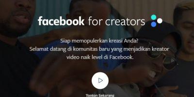 facebook creator daftar